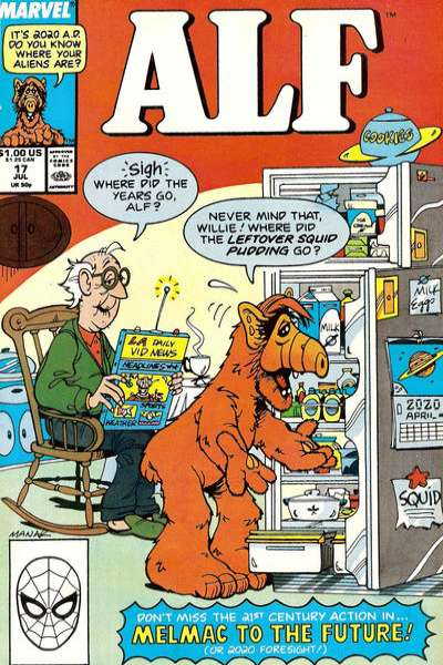 Alf #17 Comic Books - Covers, Scans, Photos  in Alf Comic Books - Covers, Scans, Gallery