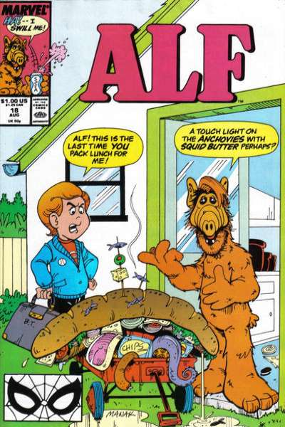 Alf #18 Comic Books - Covers, Scans, Photos  in Alf Comic Books - Covers, Scans, Gallery