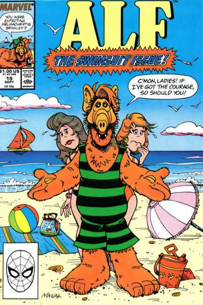 Alf #19 comic books - cover scans photos Alf #19 comic books - covers, picture gallery