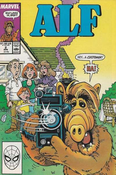 Alf #2 comic books - cover scans photos Alf #2 comic books - covers, picture gallery