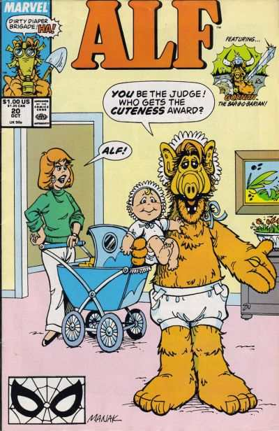 Alf #20 comic books - cover scans photos Alf #20 comic books - covers, picture gallery