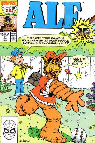 Alf #21 Comic Books - Covers, Scans, Photos  in Alf Comic Books - Covers, Scans, Gallery