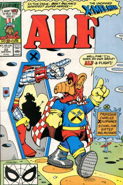 Alf #22 comic books - cover scans photos Alf #22 comic books - covers, picture gallery