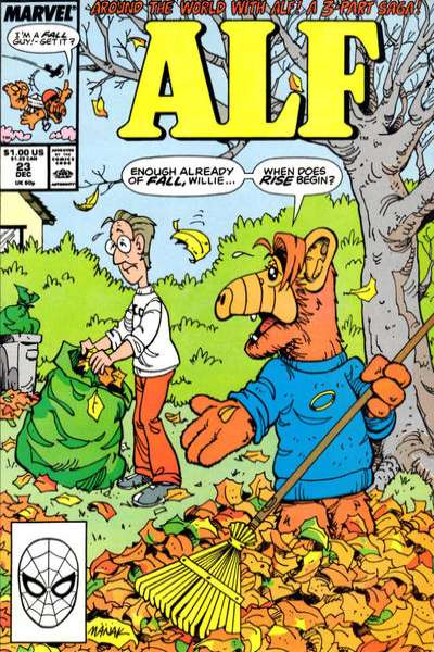Alf #23 Comic Books - Covers, Scans, Photos  in Alf Comic Books - Covers, Scans, Gallery