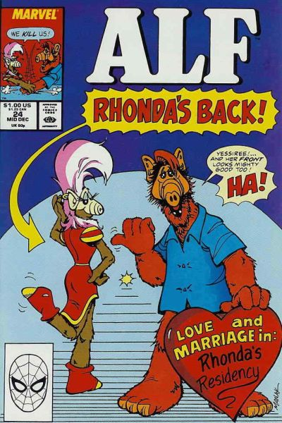 Alf #24 Comic Books - Covers, Scans, Photos  in Alf Comic Books - Covers, Scans, Gallery