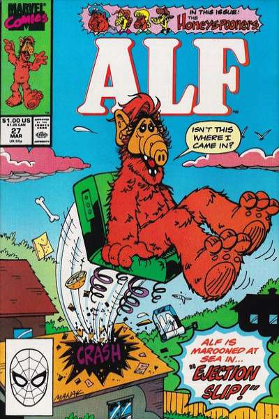 Alf #27 Comic Books - Covers, Scans, Photos  in Alf Comic Books - Covers, Scans, Gallery