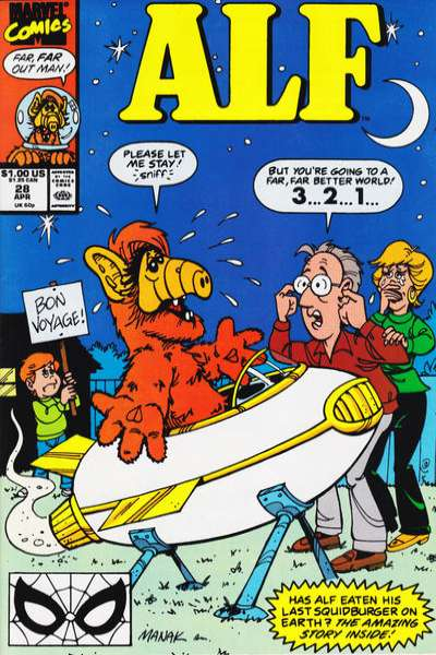 Alf #28 Comic Books - Covers, Scans, Photos  in Alf Comic Books - Covers, Scans, Gallery