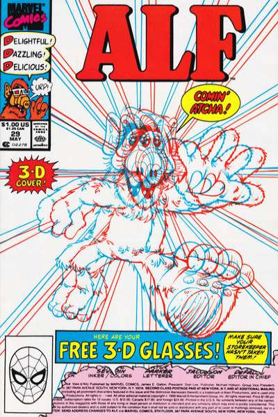 Alf #29 Comic Books - Covers, Scans, Photos  in Alf Comic Books - Covers, Scans, Gallery