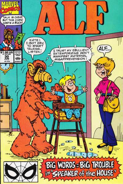 Alf #30 Comic Books - Covers, Scans, Photos  in Alf Comic Books - Covers, Scans, Gallery