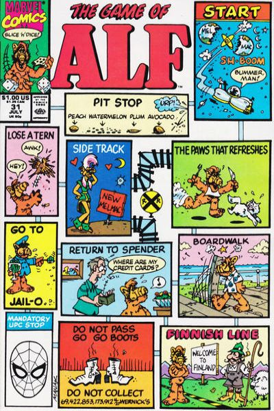 Alf #31 comic books - cover scans photos Alf #31 comic books - covers, picture gallery