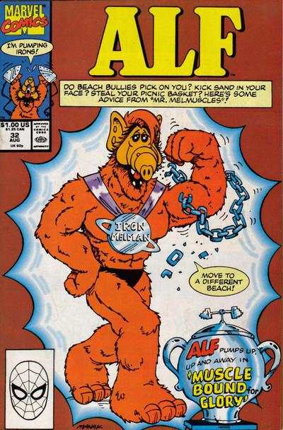 Alf #32 Comic Books - Covers, Scans, Photos  in Alf Comic Books - Covers, Scans, Gallery