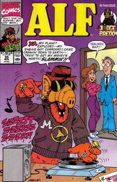 Alf #35 Comic Books - Covers, Scans, Photos  in Alf Comic Books - Covers, Scans, Gallery