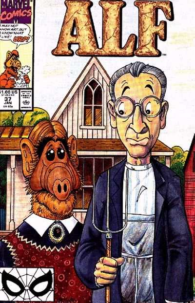 Alf #37 comic books - cover scans photos Alf #37 comic books - covers, picture gallery