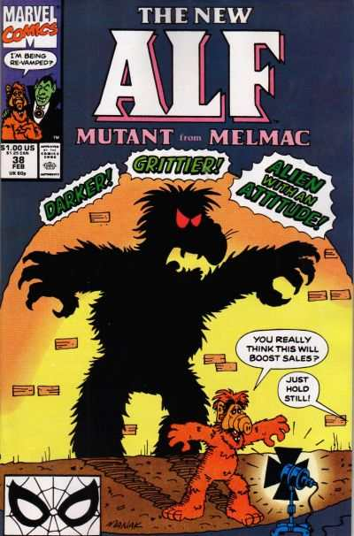 Alf #38 Comic Books - Covers, Scans, Photos  in Alf Comic Books - Covers, Scans, Gallery
