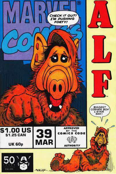 Alf #39 Comic Books - Covers, Scans, Photos  in Alf Comic Books - Covers, Scans, Gallery