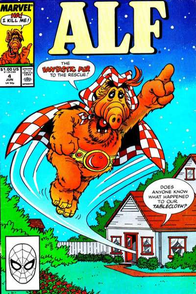 Alf #4 comic books - cover scans photos Alf #4 comic books - covers, picture gallery