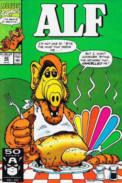 Alf #40 Comic Books - Covers, Scans, Photos  in Alf Comic Books - Covers, Scans, Gallery
