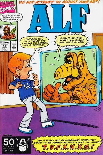 Alf #41 Comic Books - Covers, Scans, Photos  in Alf Comic Books - Covers, Scans, Gallery