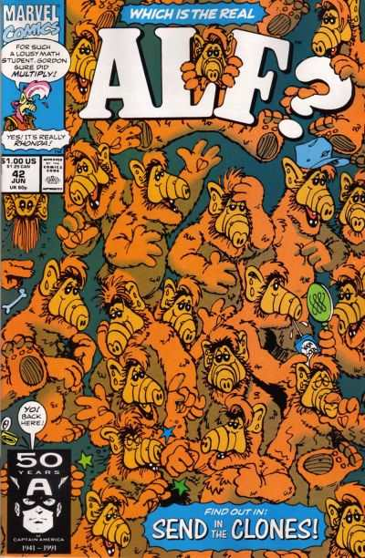 Alf #42 comic books - cover scans photos Alf #42 comic books - covers, picture gallery