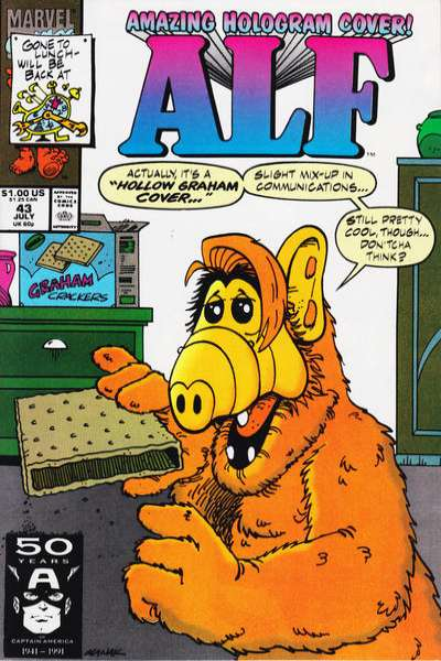 Alf #43 Comic Books - Covers, Scans, Photos  in Alf Comic Books - Covers, Scans, Gallery