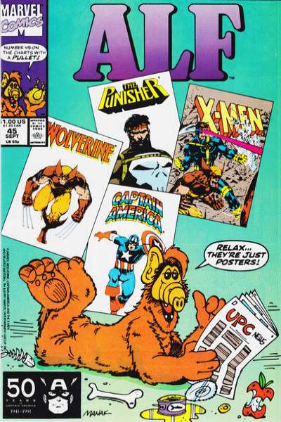 Alf #45 Comic Books - Covers, Scans, Photos  in Alf Comic Books - Covers, Scans, Gallery