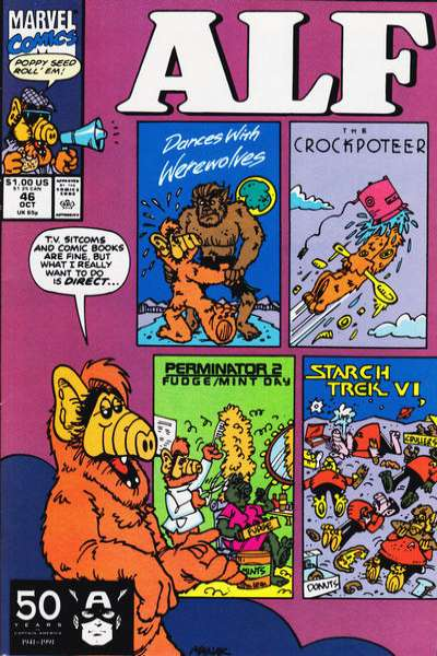 Alf #46 Comic Books - Covers, Scans, Photos  in Alf Comic Books - Covers, Scans, Gallery