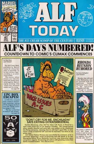 Alf #47 Comic Books - Covers, Scans, Photos  in Alf Comic Books - Covers, Scans, Gallery