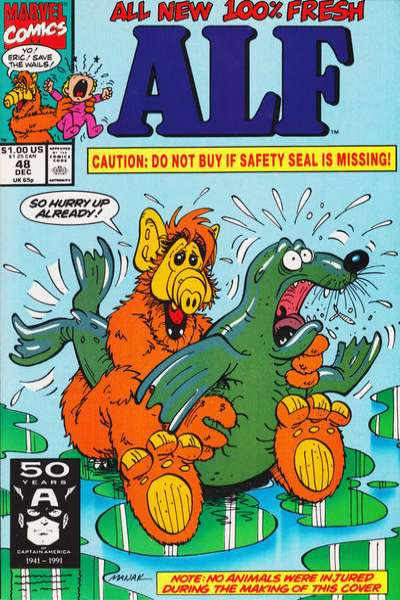 Alf #48 Comic Books - Covers, Scans, Photos  in Alf Comic Books - Covers, Scans, Gallery