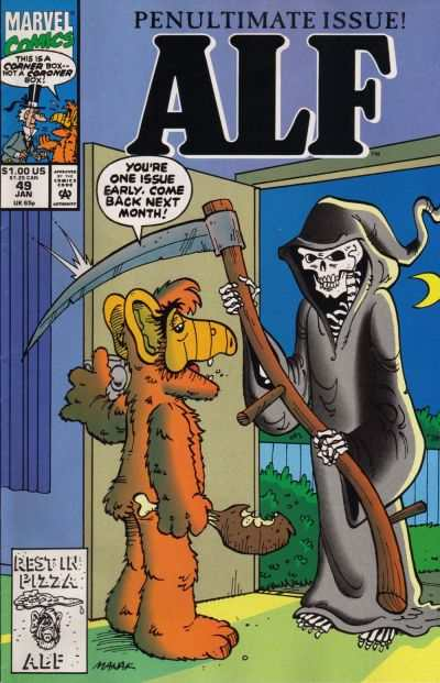 Alf #49 Comic Books - Covers, Scans, Photos  in Alf Comic Books - Covers, Scans, Gallery