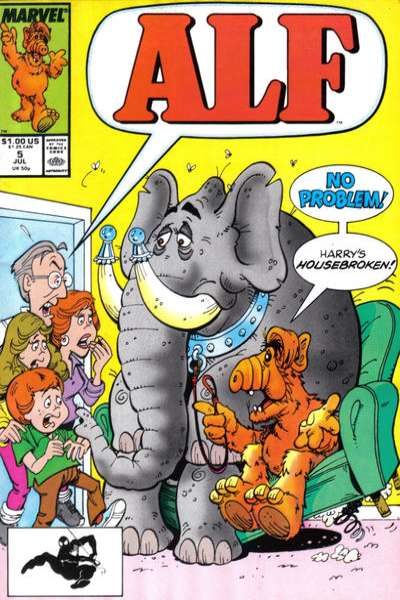 Alf #5 Comic Books - Covers, Scans, Photos  in Alf Comic Books - Covers, Scans, Gallery