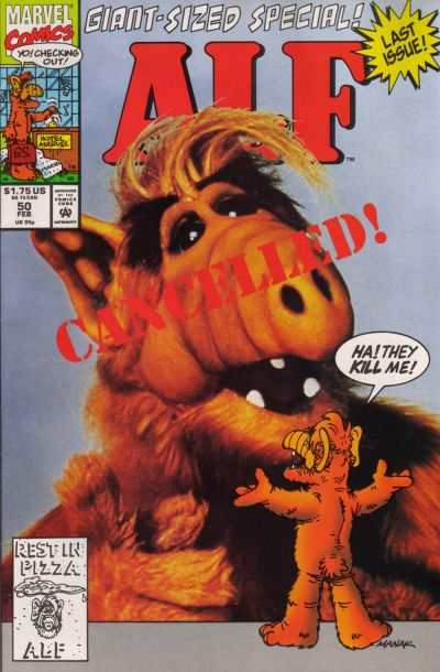 Alf #50 Comic Books - Covers, Scans, Photos  in Alf Comic Books - Covers, Scans, Gallery