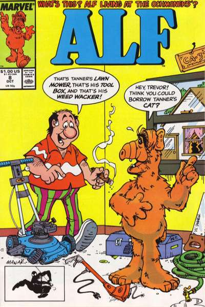 Alf #8 Comic Books - Covers, Scans, Photos  in Alf Comic Books - Covers, Scans, Gallery