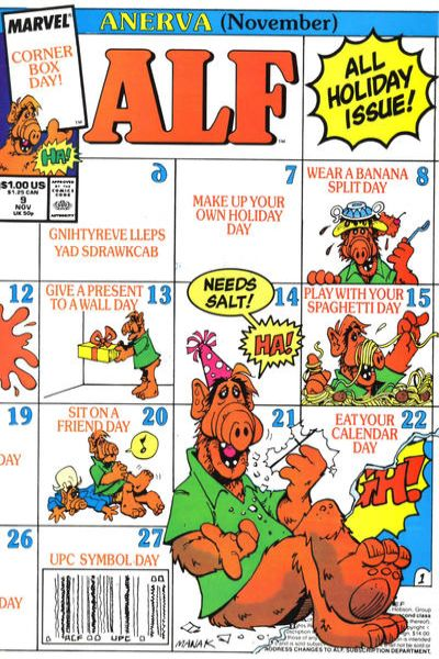 Alf #9 comic books - cover scans photos Alf #9 comic books - covers, picture gallery