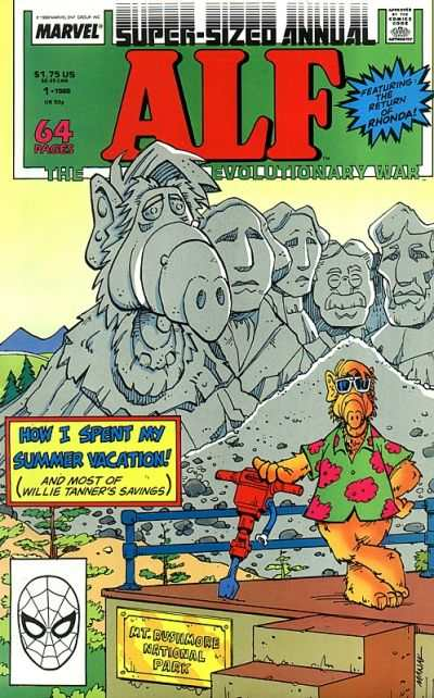 Alf #1 comic books - cover scans photos Alf #1 comic books - covers, picture gallery