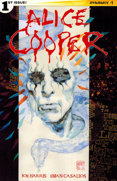 Alice Cooper Comic Books. Alice Cooper Comics.