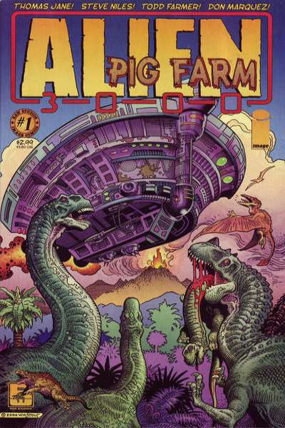 Alien Pig Farm 3000 #1 Comic Books - Covers, Scans, Photos  in Alien Pig Farm 3000 Comic Books - Covers, Scans, Gallery