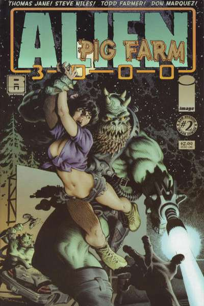 Alien Pig Farm 3000 #2 Comic Books - Covers, Scans, Photos  in Alien Pig Farm 3000 Comic Books - Covers, Scans, Gallery