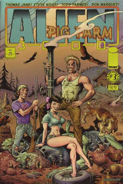 Alien Pig Farm 3000 #3 Comic Books - Covers, Scans, Photos  in Alien Pig Farm 3000 Comic Books - Covers, Scans, Gallery