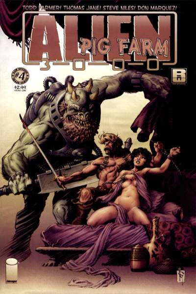 Alien Pig Farm 3000 #4 Comic Books - Covers, Scans, Photos  in Alien Pig Farm 3000 Comic Books - Covers, Scans, Gallery