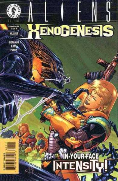 Aliens: Xenogenesis comic books