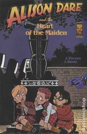 Alison Dare and the Heart of the Maiden comic books