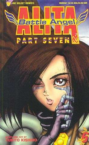 Alita: Battle Angel: Part 7 #6 comic books for sale