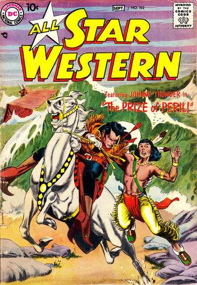 All Star Western #102 comic books for sale