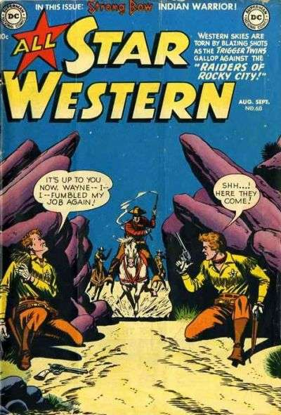 All Star Western #60 Comic Books - Covers, Scans, Photos  in All Star Western Comic Books - Covers, Scans, Gallery