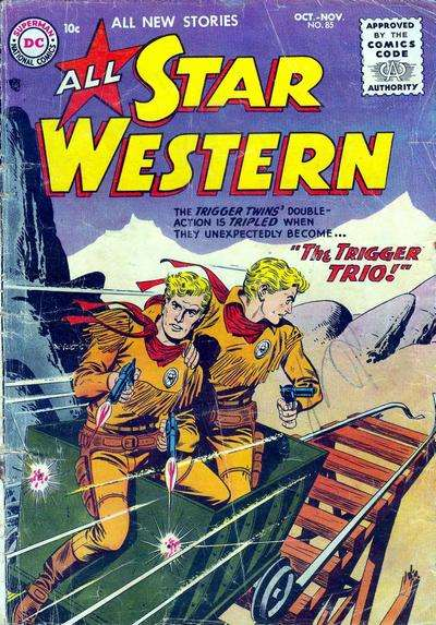 All Star Western #85 comic books for sale