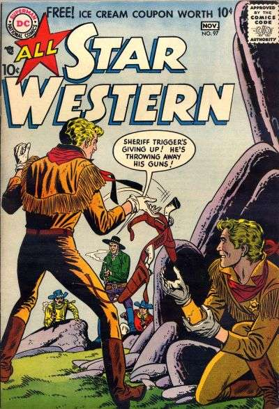 All Star Western #97 comic books for sale