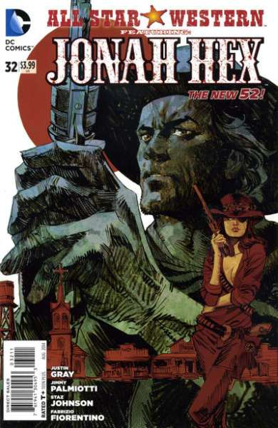 Western Book Cover Art : All star western comic books for sale buy old