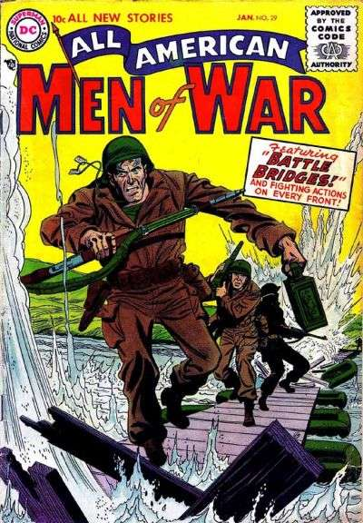 All-American Men of War #29 Comic Books - Covers, Scans, Photos  in All-American Men of War Comic Books - Covers, Scans, Gallery