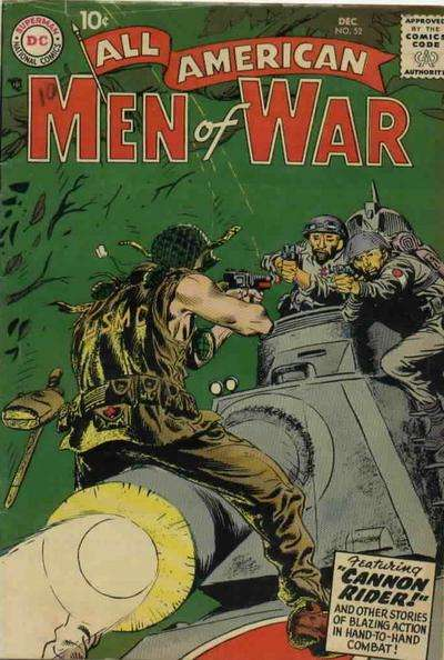 All-American Men of War #52 comic books - cover scans photos All-American Men of War #52 comic books - covers, picture gallery