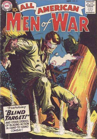 All-American Men of War #61 Comic Books - Covers, Scans, Photos  in All-American Men of War Comic Books - Covers, Scans, Gallery